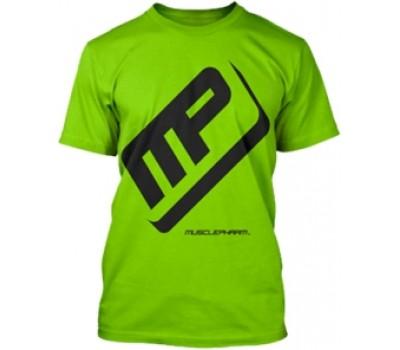 Футболка Musclepharm модель 3-2 зеленая (L, XL) в Киеве