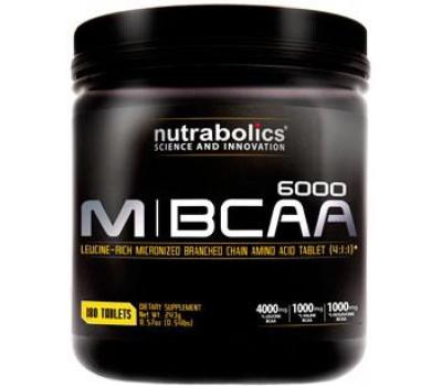 M-BCAA 6000 Nutrabolics 180 таблеток в Киеве