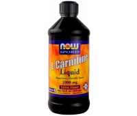 L-Carnitine 1000 mg Liquid NOW 480 мл