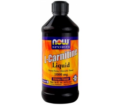 L-Carnitine 1000 mg Liquid NOW 480 мл в Киеве