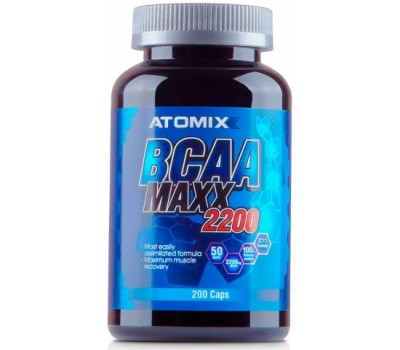 Atomix BCAA Maxx 2200 200 капсул в Киеве