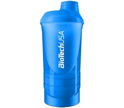 Wave Shaker 3 in 1 BioTech 500 ml синий в Киеве