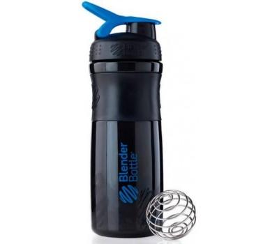Blender Bottle SportMixer 828 ml black-blue в Киеве