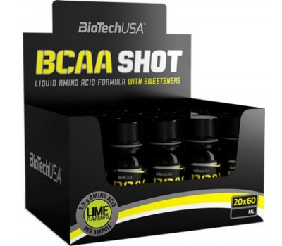 BioTech USA BCAA Shot 20Х60 ml в Киеве