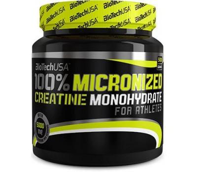 100% Creatine Monohydrate BioTech 500g в Киеве