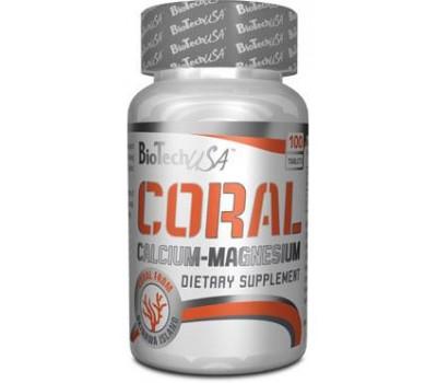 BioTech USA Coral Calcium-Magnesium 100 таблеток в Киеве