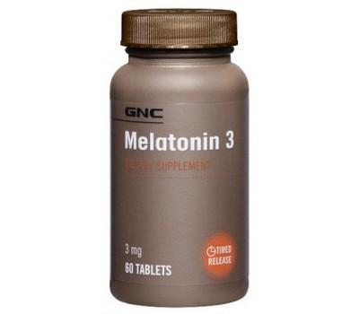 GNC Melatonin 3 mg 60 таблеток в Киеве