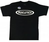 Мужская футболка MuscleTech черная