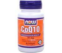 CoQ10 30 mg NOW 90 капсул