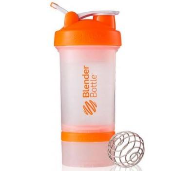 Shaker Blender Bottle ProStak 650 ml clear orange в Киеве