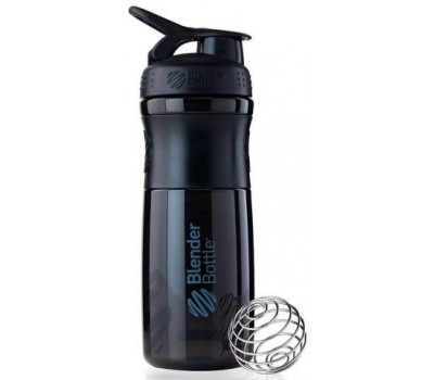 Blender Bottle SportMixer 828 ml black в Киеве