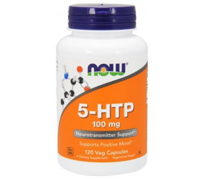 NOW 5-HTP 100 mg 120 капсул в Киеве