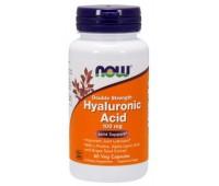 Hyaluronic Acid 100 mg NOW Foods 60 Veg Capsules