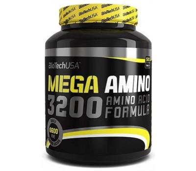 BioTech USA Mega Amino 3200 500 таблеток в Киеве