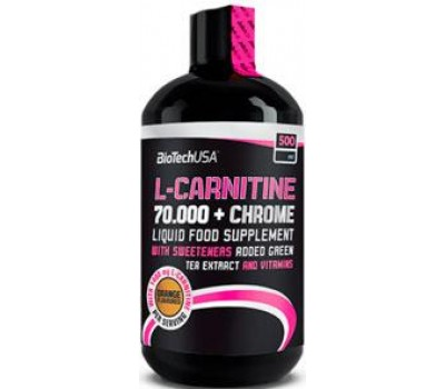 L-Carnitine 70000 + Chrome BioTech 500 ml в Киеве