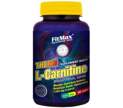 Therm L-Carnitine FitMax 60 капсул в Киеве