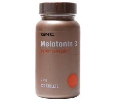 GNC Melatonin 3 mg 120 таблеток в Киеве