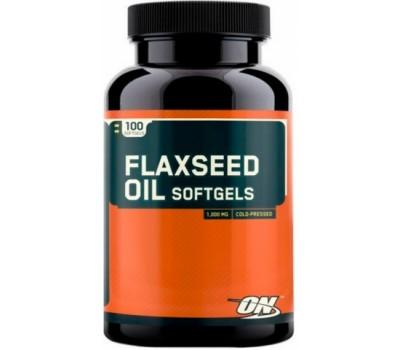Flaxseed Oil 100 caps Optimum Nutrition в Киеве