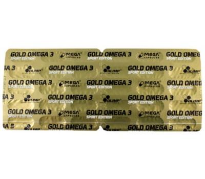 Olimp Omega 3 Sport Gold Edition 30 капсул (блистер) в Киеве