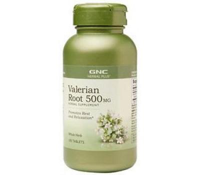 Valerian Root 500 mg GNC 100 таблеток в Киеве