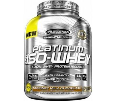 Muscletech Platinum 100% Iso-Whey 1500g в Киеве