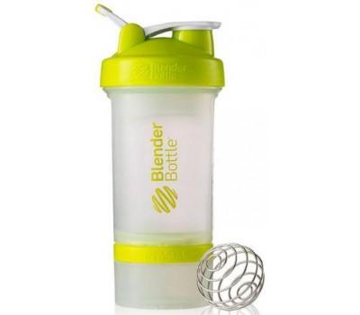 Shaker Blender Bottle ProStak 650 ml clear green в Киеве