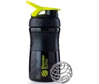 Blender Bottle SportMixer 591 ml mini black-green