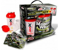 Amix Anabolic Monster Whey BOX with Monster Shaker