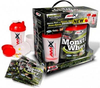 Amix Anabolic Monster Whey BOX with Monster Shaker в Киеве