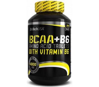 BioTech USA BCAA + B6 200 таблеток в Киеве