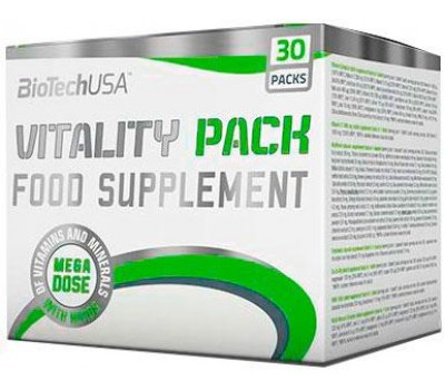BioTech USA Vitality Pack 30 packs в Киеве