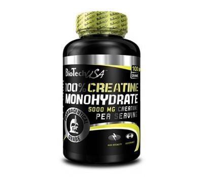 100% Creatine Monohydrate BioTech 100g в Киеве