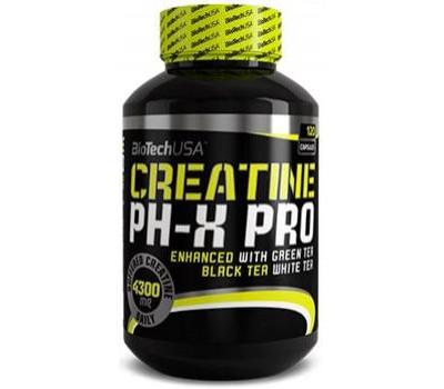 BioTech USA Creatine pH-X Pro 120 капсул в Киеве