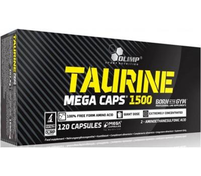 Taurine 1500 mega caps Olimp 120 капсул в Киеве