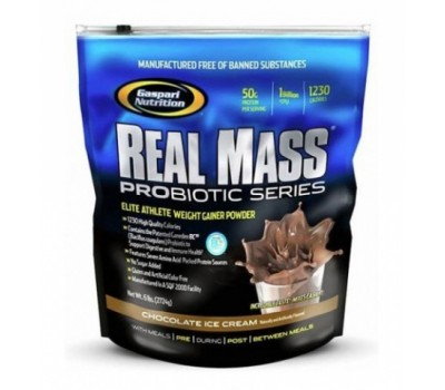 Real Mass Probiotic Series Gaspari Nutrition 2730g в Киеве
