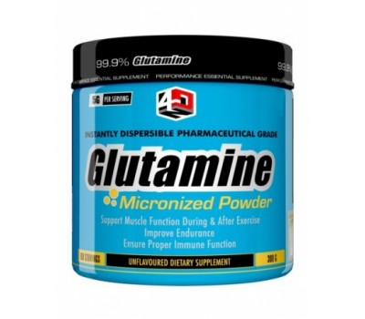 Glutamine 4 Dimension Nutrition 300g в Киеве