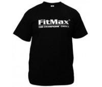 Футболка FitMax мужская, черная (XL)