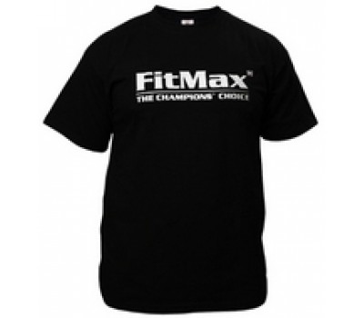 Футболка FitMax мужская, черная (XL) в Киеве