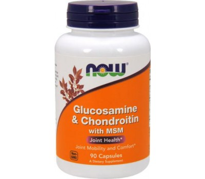 Glucosamine & Chondroitin with MSM 90 капсул в Киеве