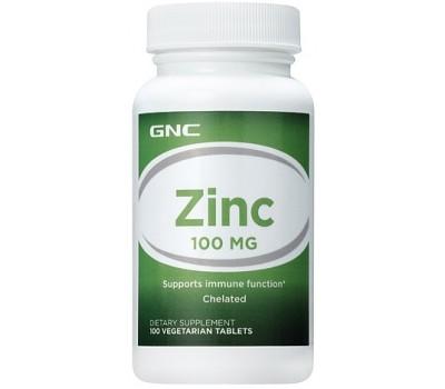 GNC Zinc 100 mg 100 таблеток в Киеве