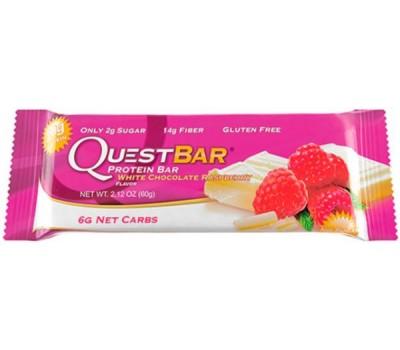 Quest Bar White Chocolate Raspberry 60g в Киеве