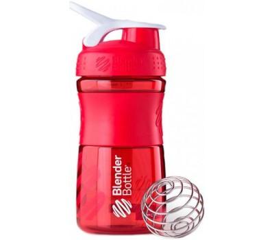 Blender Bottle SportMixer 591 ml mini red в Киеве