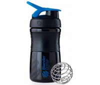 Blender Bottle SportMixer 591 ml mini black-blue