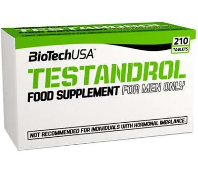BioTech USA Testandrol 210 таблеток в Киеве