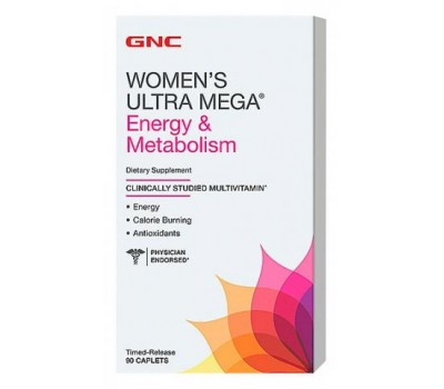 GNC Womens Ultra Mega Energy Metabolism 90 каплет в Киеве