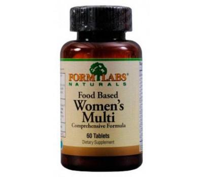 Form Labs Naturals Food Based Women's Multi 60 таблеток в Киеве