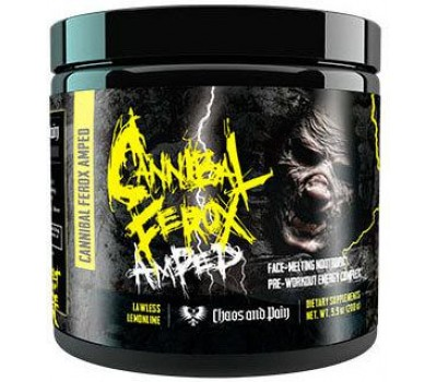 Chaos and Pain Cannibal Ferox AMPED Stim Pre-Workout в Киеве