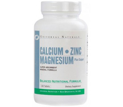 Universal Calcium Zinc Magnesium 100 таблеток в Киеве