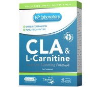 CLA & L-Carnitine VP Laboratory 45 капсул
