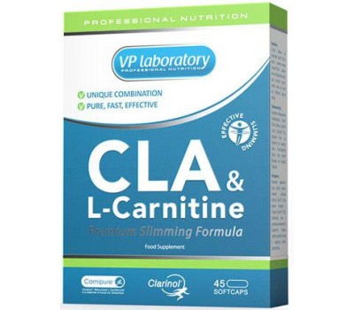 CLA & L-Carnitine VP Laboratory 45 капсул в Киеве